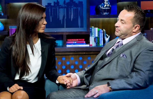 'RHONJ' Reality Star Joe Giudice Begins Filming Reality Show