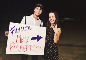 'Duck Dynasty' Star John Luke Robertson and Mary Kate McEacharn Engaged!