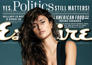 40 Shades of Hot! Penelope Cruz Named Sexiest Woman Alive by Esquire Magazine
