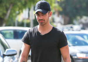 Joe Jonas stopped for lunch at King's Road Cafe in West Hollywood.