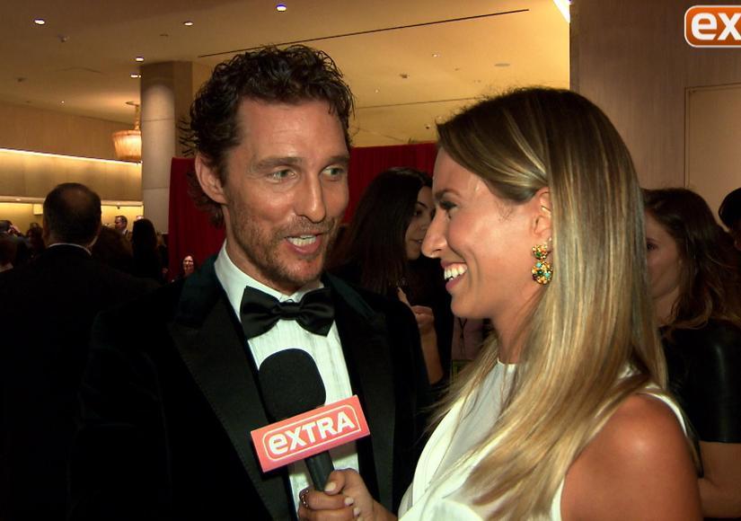 Matthew McConaughey Recalls His Very First Award... Little Mr. Texas!