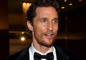 Matthew McConaughey Recalls His Very First Award... Little Mr. Texas!