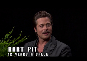 Brad Pitt's 'Between Two Ferns with Zach Galifianakis' Is So Awkward!