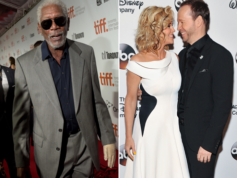 Morgan Freeman's Response to Jenny McCarthy and Donnie Wahlberg Making Out Is…