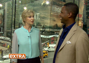 Jane Lynch Talks 'Hollywood Game Night' at H&M