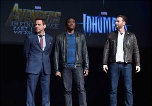 Extra Scoop: Marvel Reveals Slate Through 2019, Including a 'Black Panther'…
