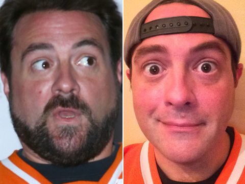 Kevin Smith Is Unrecognizable After Shaving His Beard!
