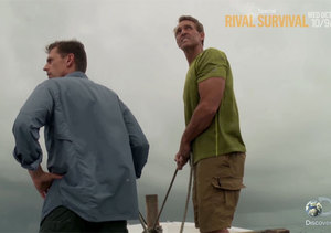 Watch! Discovery Channel Strands Two US Senators in the Wild on 'Rival Survival'