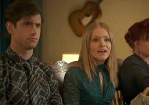 Movie Clip! It's Family Dinner Time in 'An Evergreen Christmas'