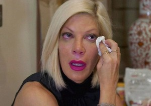 Tori Spelling Bawls Her Eyes Out After Meeting with Ex-Husband