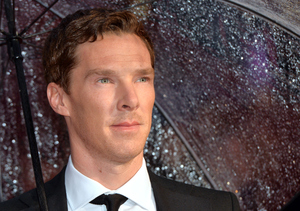 Benedict Cumberbatch Is Off the Market, Ladies!