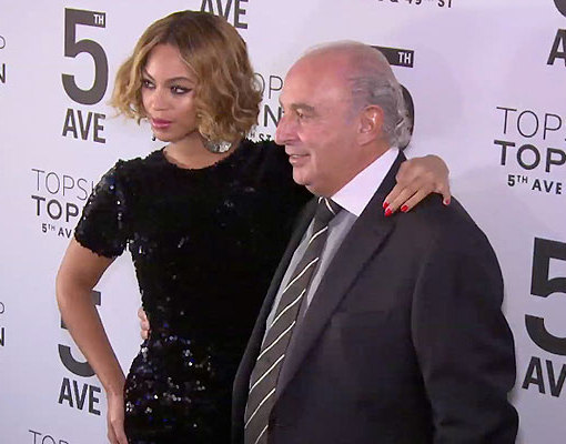 Beyoncé Dazzles at Topshop's Flagship NYC Store Opening