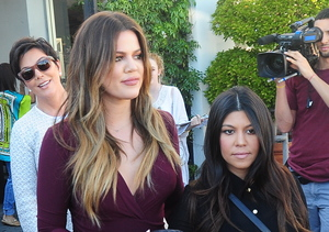 Kris Jenner Takes Her New BF to Lunch with Kourtney and Khloé