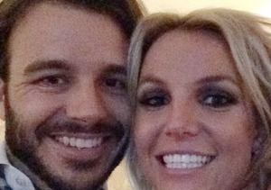 Cute Pic! Britney Spears Smiles with New Beau Charlie Ebersol