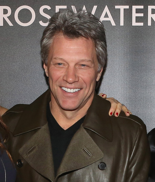 Bon Jovi Opens Up About His Band's New Photo Book, 'Work'