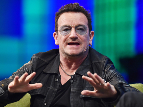 Scare in the Air! Door Falls Off Bono's Private Jet