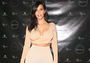 Kim K Shows Major Kleavage at First Appearance Since Her Booty Broke the…