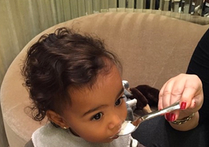 Cute Overload! Kim K Posts More Adorable Pics of North West