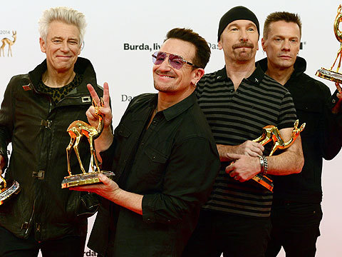 Bono's Injury Causes U2 to Cancel Week-Long 'Tonight Show' Gig