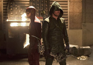 Stephen Amell and Grant Gustin Tease 'The Flash' and 'Arrow' Crossover Episodes