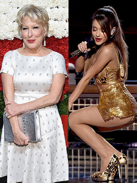Bette Midler Slams Ariana Grande's Sexy Performances, Says They're 'Silly Beyond Belief'