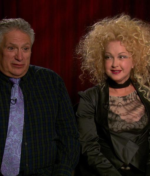 Cyndi Lauper and Harvey Fierstein on the 'Kinky Boots' Musical