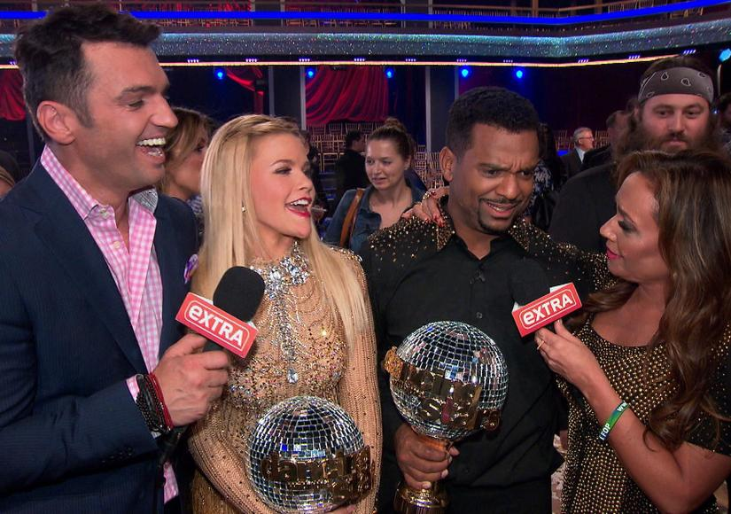 'DWTS' Week 11 Finale: Alfonso Wins the Mirror Ball Trophy, Leah and Tony Hang…