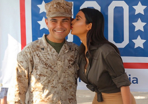 Kim Kardashian's Bootylicious Trip to Support the Troops