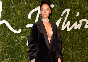 Oops! Rihanna's Peek-a-Boo Wardrobe Malfunction at the British Fashion Awards