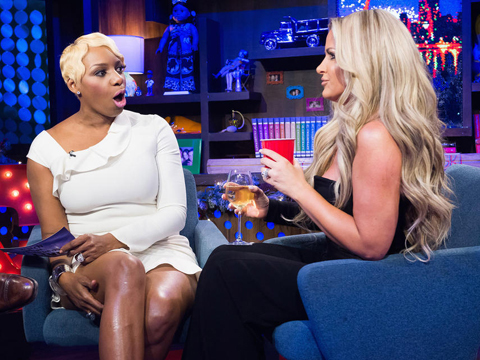 Video! 'RHOA' Stars NeNe Leakes and Kim Zolciak Go Face-to-Face