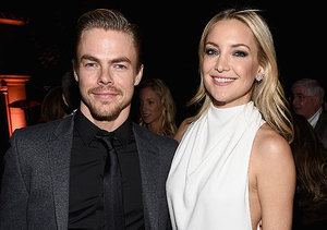 Hot Report! Kate Hudson Spotted Making Out with Derek Hough