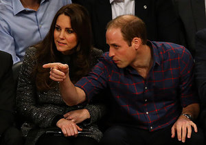 Pics! The Royals Hang with King James, Pop Royalty and a Former First Lady
