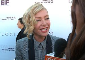 'Extra' Hangs Out at THR's Women in Entertainment Breakfast