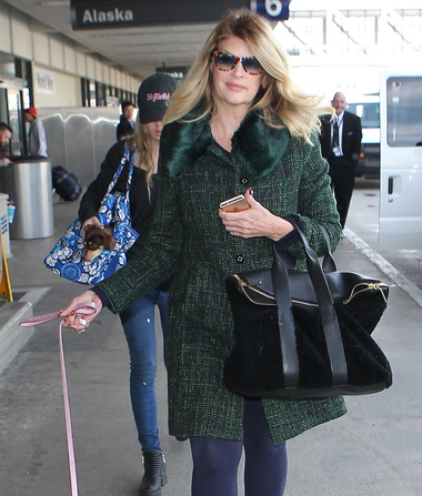 Pic! Kirstie Alley Shows Off Her Slimmer Figure