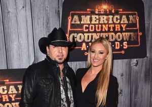 Jason Aldean and Fiancée Brittany Kerr Make Appearance at ACC Awards