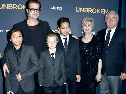 Pics! Shiloh Jolie-Pitt Rocks a Suit at the 'Unbroken' Premiere