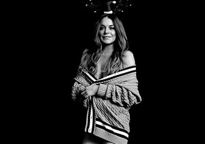 See How Lindsay Lohan Shimmies in a Santa Hat and No Pants!