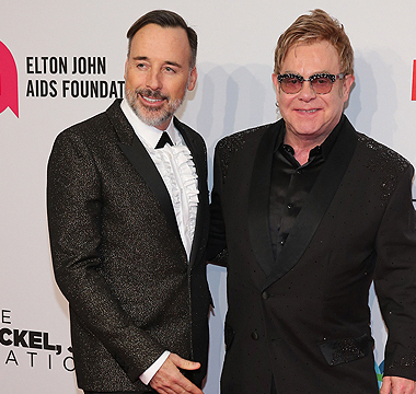Couples News! Elton John & David Furnish Set to Marry in England This Weekend