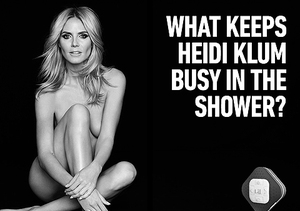 See the Heidi Klum Ads That Are Too Hot for… Las Vegas?