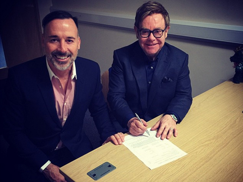 See Sir Elton John and David Furnish's Wedding Album!