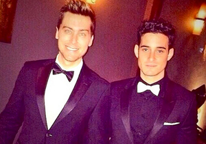 Lance Bass Weds Michael Turchin, and an 'N Sync Member Performs!