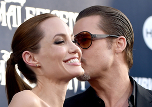 Angelina Talking About Directing Brad in a Sex Scene Might Make You Blush