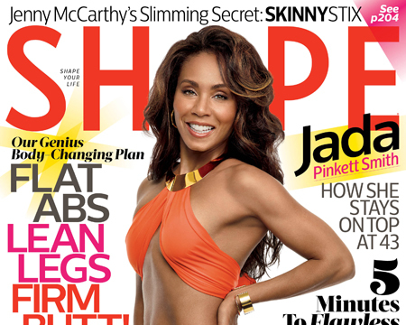 Jada Pinkett Smith Shows Off Hot Bikini Bod on Cover of Shape Magazine!