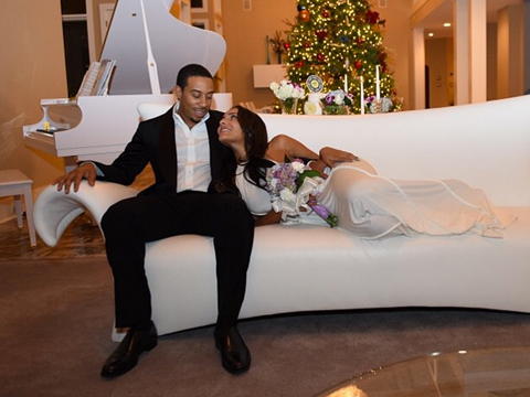 Pics! Ludacris Wed GF Eudoxie the Same Day He Proposed