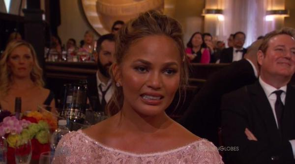 Chrissy Teigen Spoofs Her Own 'Cry Face'!