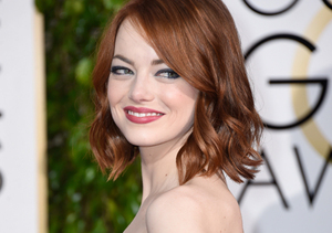 Emma Stone Takes a Red Carpet Risk in Lanvin Jumpsuit