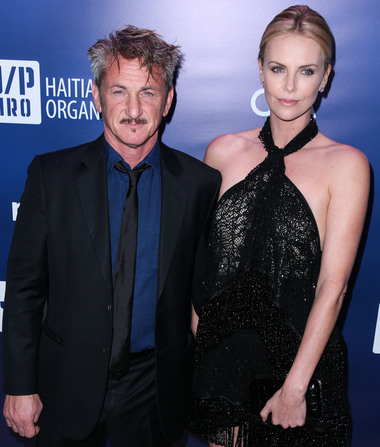 Sean Penn Dodges Question About Engagement to Charlize Theron