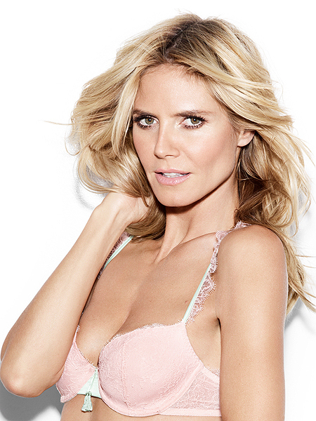 See Heidi Klum in Lingerie… That's It.