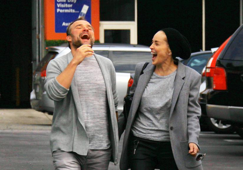 Sharon Stone and David DeLuise Romance Rumors Heat Up!