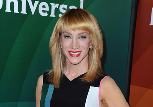 Kathy Griffin Says She 'Felt Joan's Presence' on 'Fashion Police'